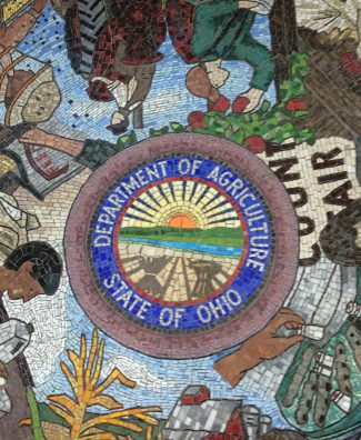 Mosaic at the Ohio Department of Agriculture