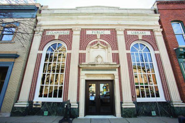 St. Clairsville Library.(Jodi Miller)