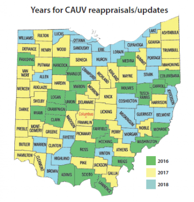 CAUV map insert
