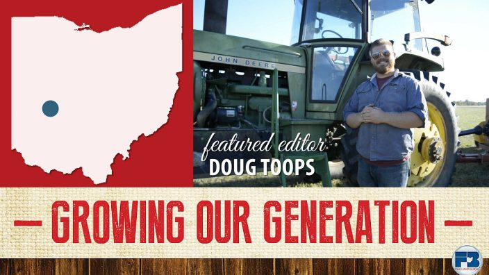 Doug Toops of Clark County was the featured editor of this week's Growing Our Generation e-newsletter