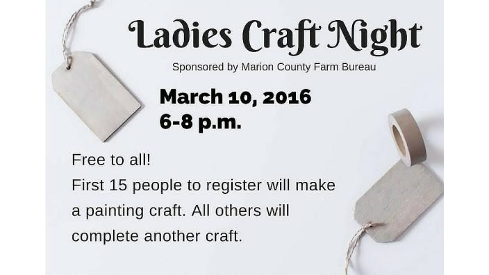 Ladies craft night