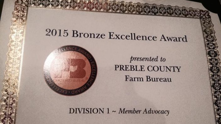 Preble county award