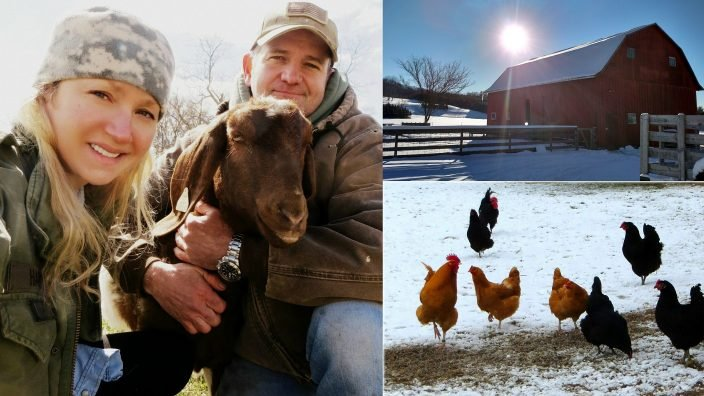 Ivory Harlow of Dickie Bird Farm in Ross County shares a day on her farm for #TakeOverTuesday