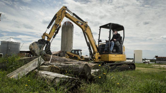 Mini Hydraulic Excavator 303.5 Working
