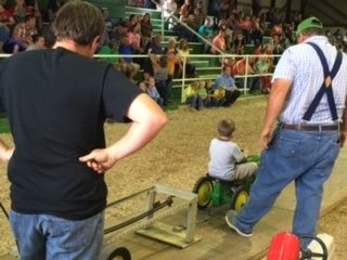 Fun times at Guernsey County Fair Peddle Pull
