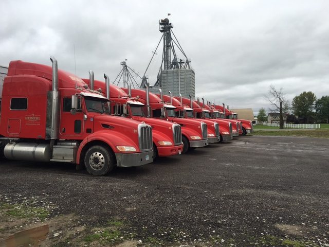 Heimerl Farms truck fleet