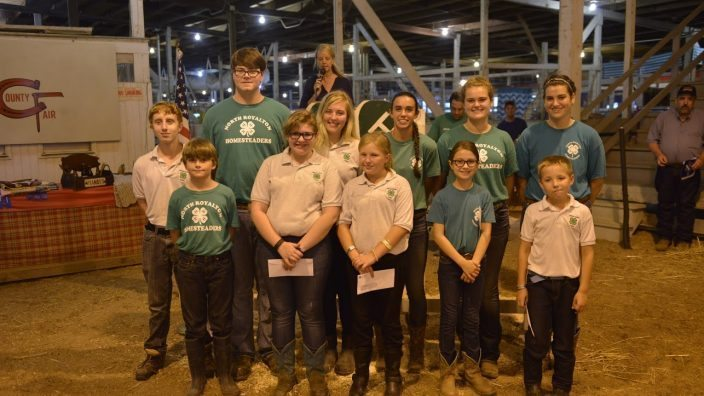 2016 Cuyahoga 4H Market Auction participants