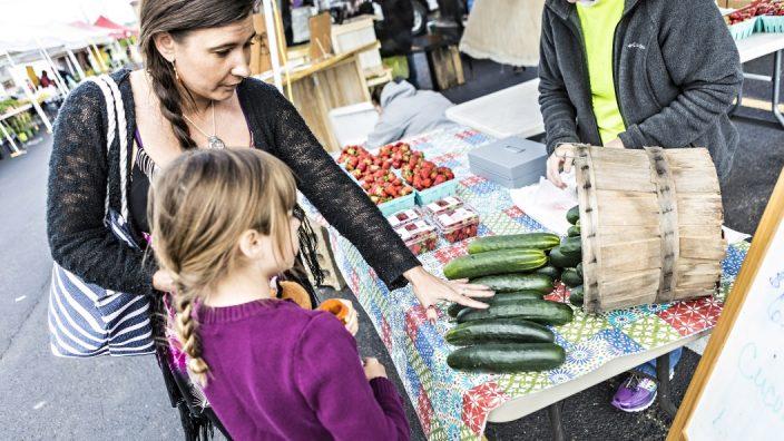 Pearl Market in Columbus participates in the Veggie SNAPS program.