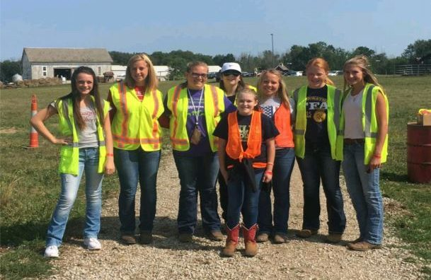 Norwayne FFA raises funds for their greenhouse