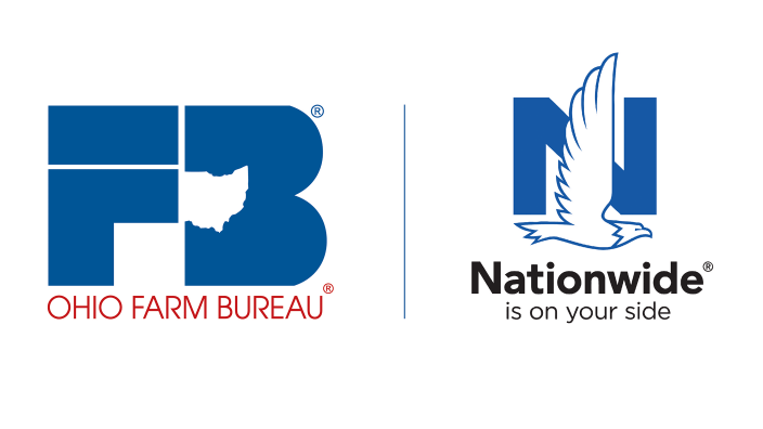 Ohio Farm Bureau Federation and Nationwide Logos