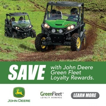 John Deere Green Fleet Loyalty Rewards