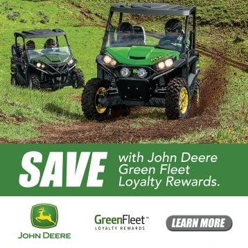 John Deere Green Fleet Loyalty Rewards