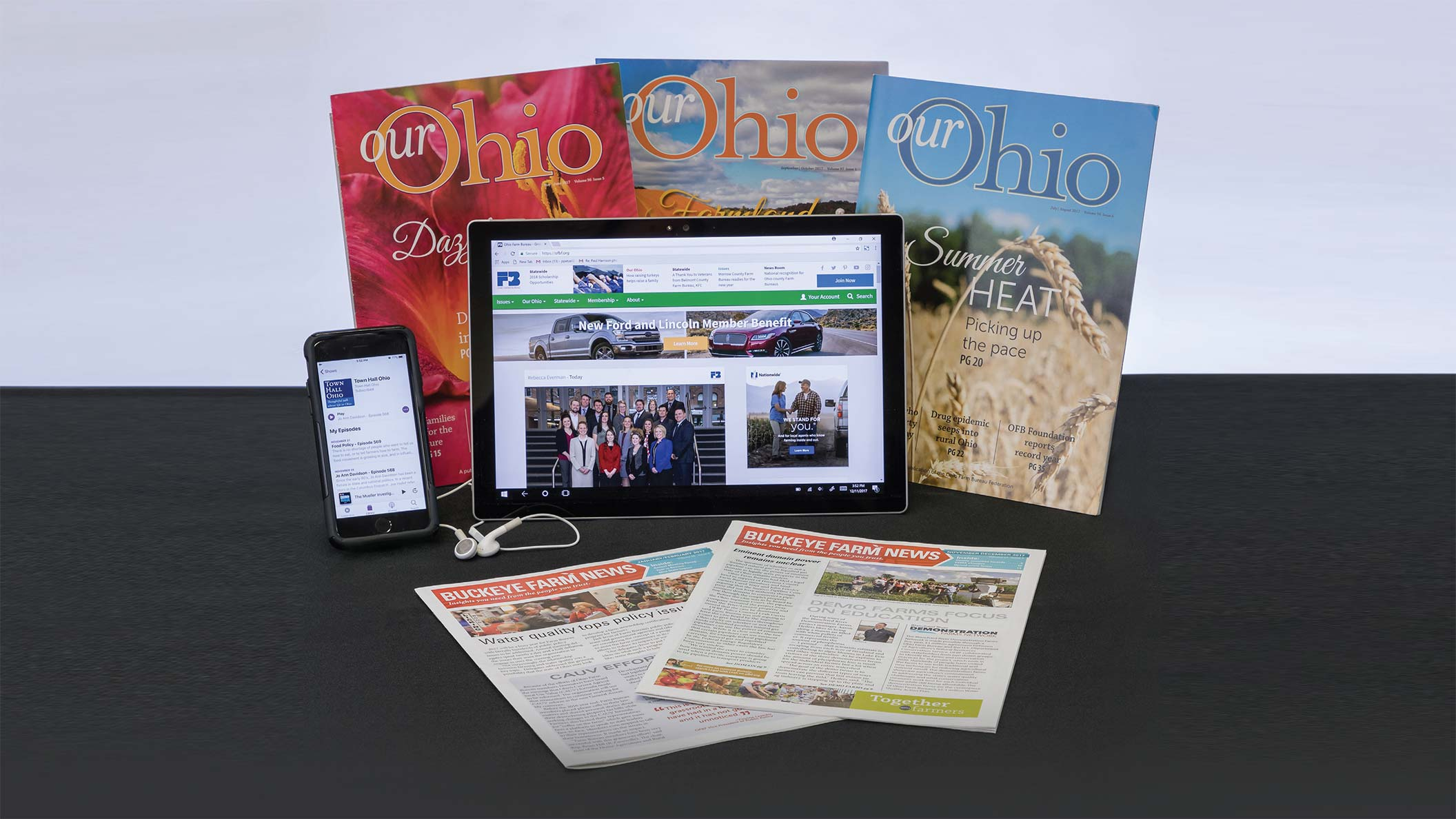 2018 Ohio Farm Bureau Media Kit hero image
