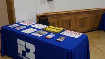 Materials available for membership workers.