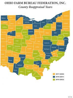 County ReappraisalMap 2018
