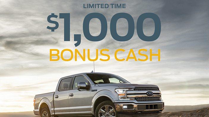 Ford Bonus Cash Increase, Sweepstakes - Ohio Farm Bureau