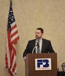 OFBF President Frank Burkett, III at Ag Day at the Capital.