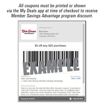 Member Savings Advantage Coupon
