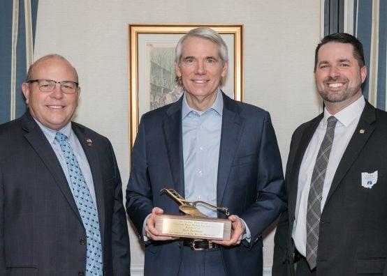 Portman Golden Plow award Presidents' Trip