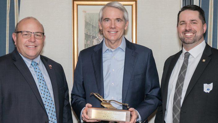 Rob Portman Golden Plow award