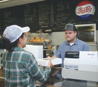 With the encouragement of his 4-H adviser, Dawson got a job working at a local deli where his boss praised him for his work ethic.