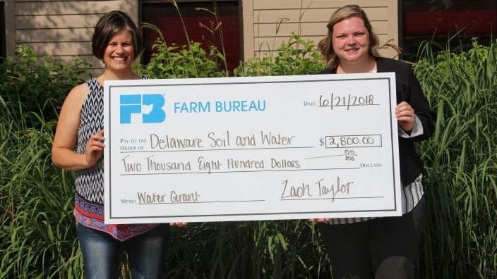 Delaware County Soil and Water awarded grant