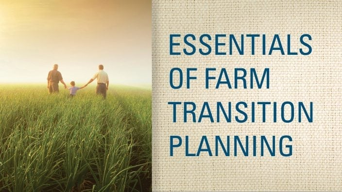 Farm Transition Planning