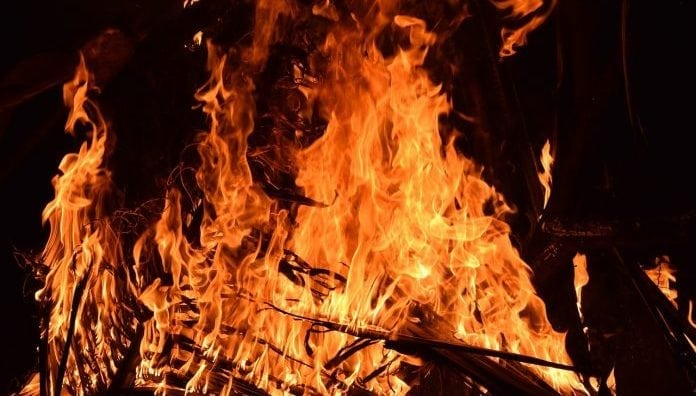 open-burn