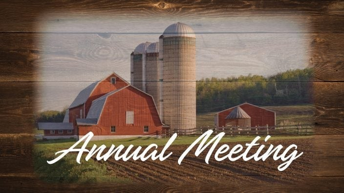 2018 county annual meeting
