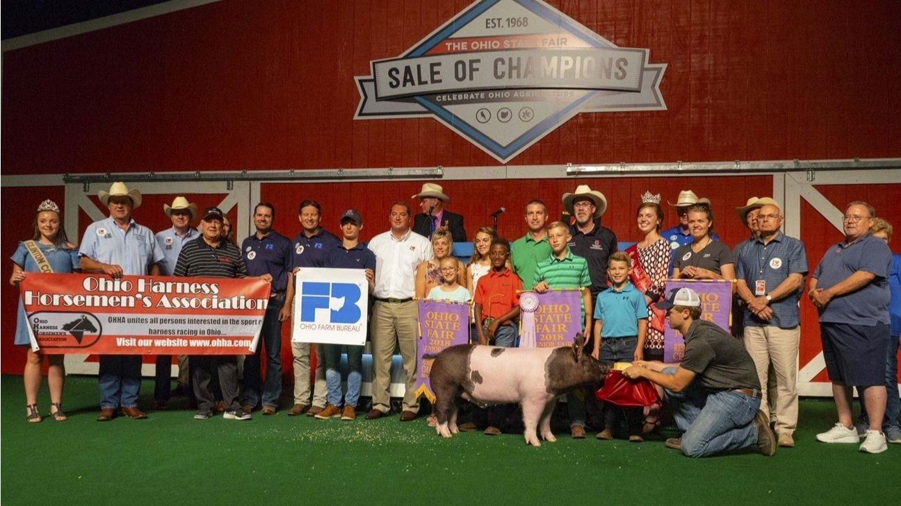 Ohio Farm Bureau, partners purchase Reserve Grand Champion