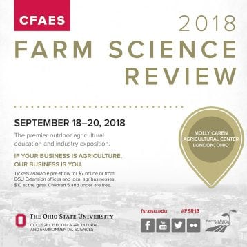 2018 Farm Science Review