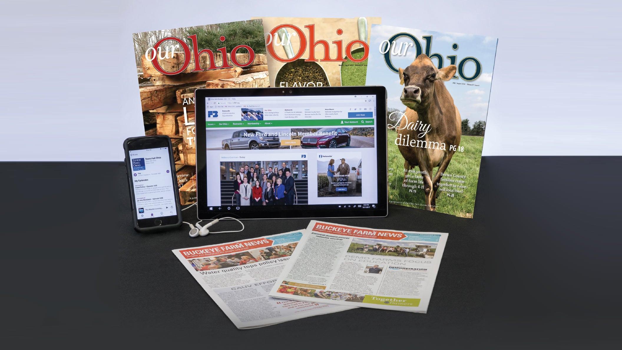 2019 Ohio Farm Bureau Media Kit hero image