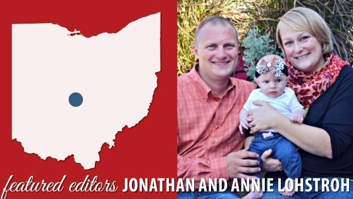 Jonathan and Annie Lohstroh, Pickaway County