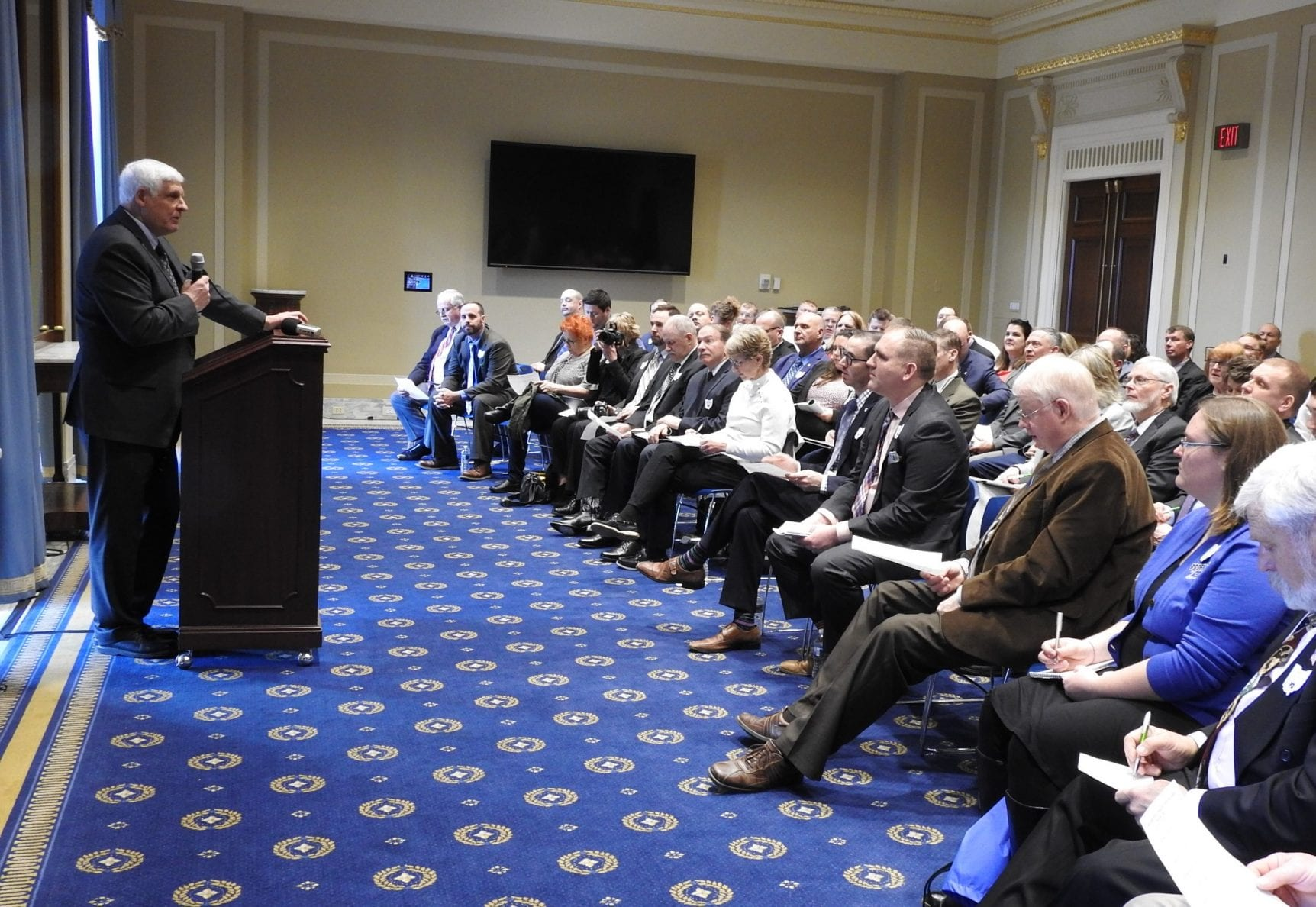 Congressman Bob Gibbs welcomes county presidents to his annual Farm Forum with congressional leaders in D.C.
