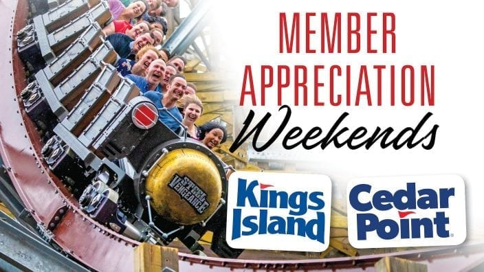 2019 Member Appreciation Weekends