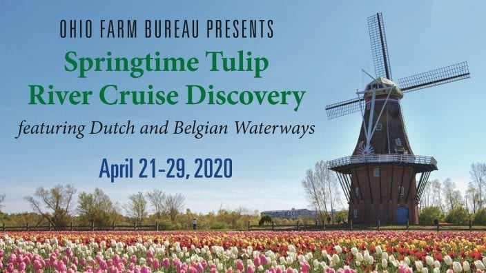 Sprintime Tulip River Cruise