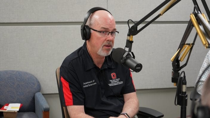 Chairman of Ohio State's Department of Animal Sciences, Dr. John Foltz on Town Hall Ohio. 8/13/2019