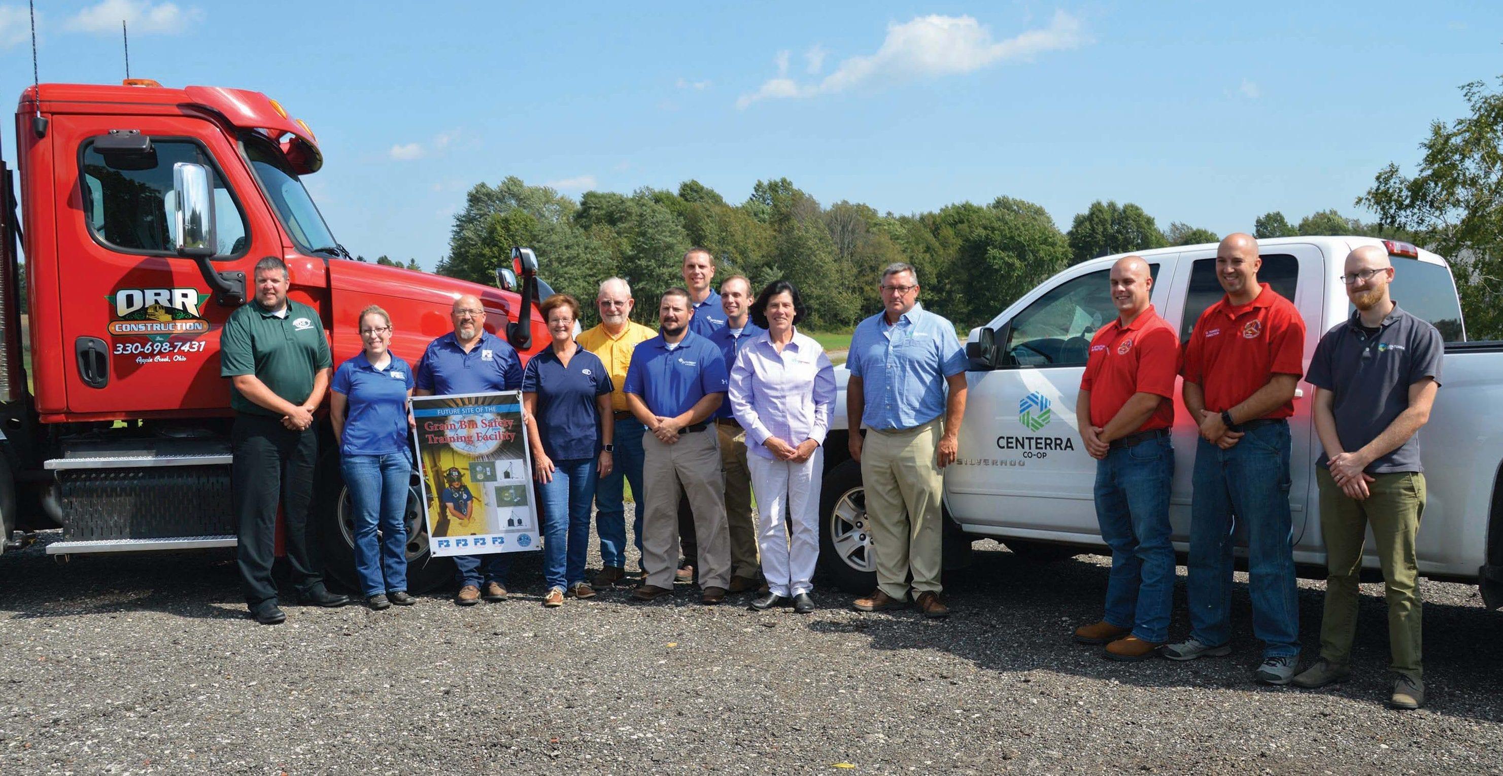 Wayne County grain bin rescue project