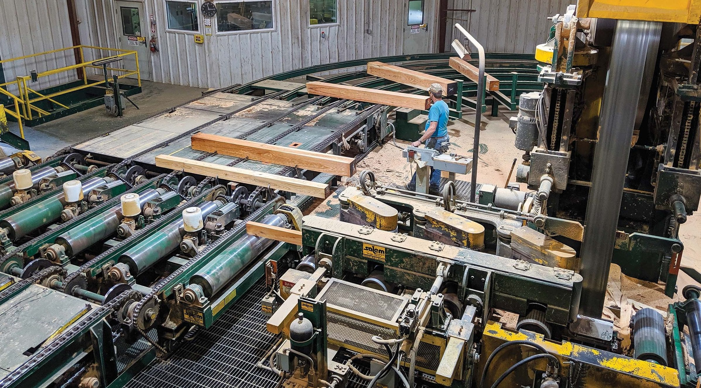 2019 OFBF Board trip to Marietta Ohio - Haessly Hardwood Lumber Company