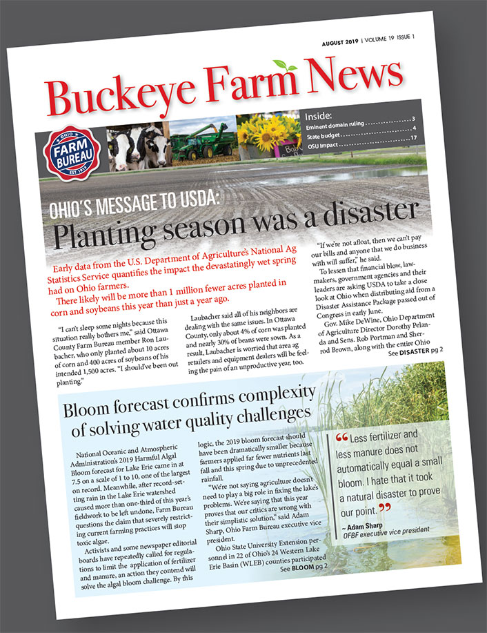 Buckeye Farm News cover