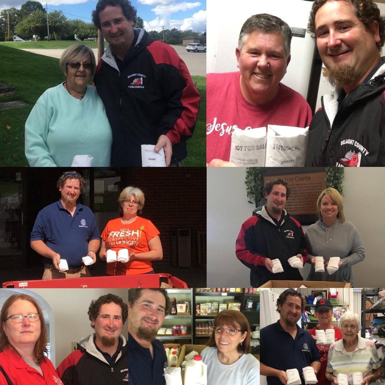 Belmont pork donation