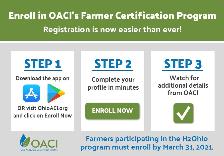 OACI enrollment steps