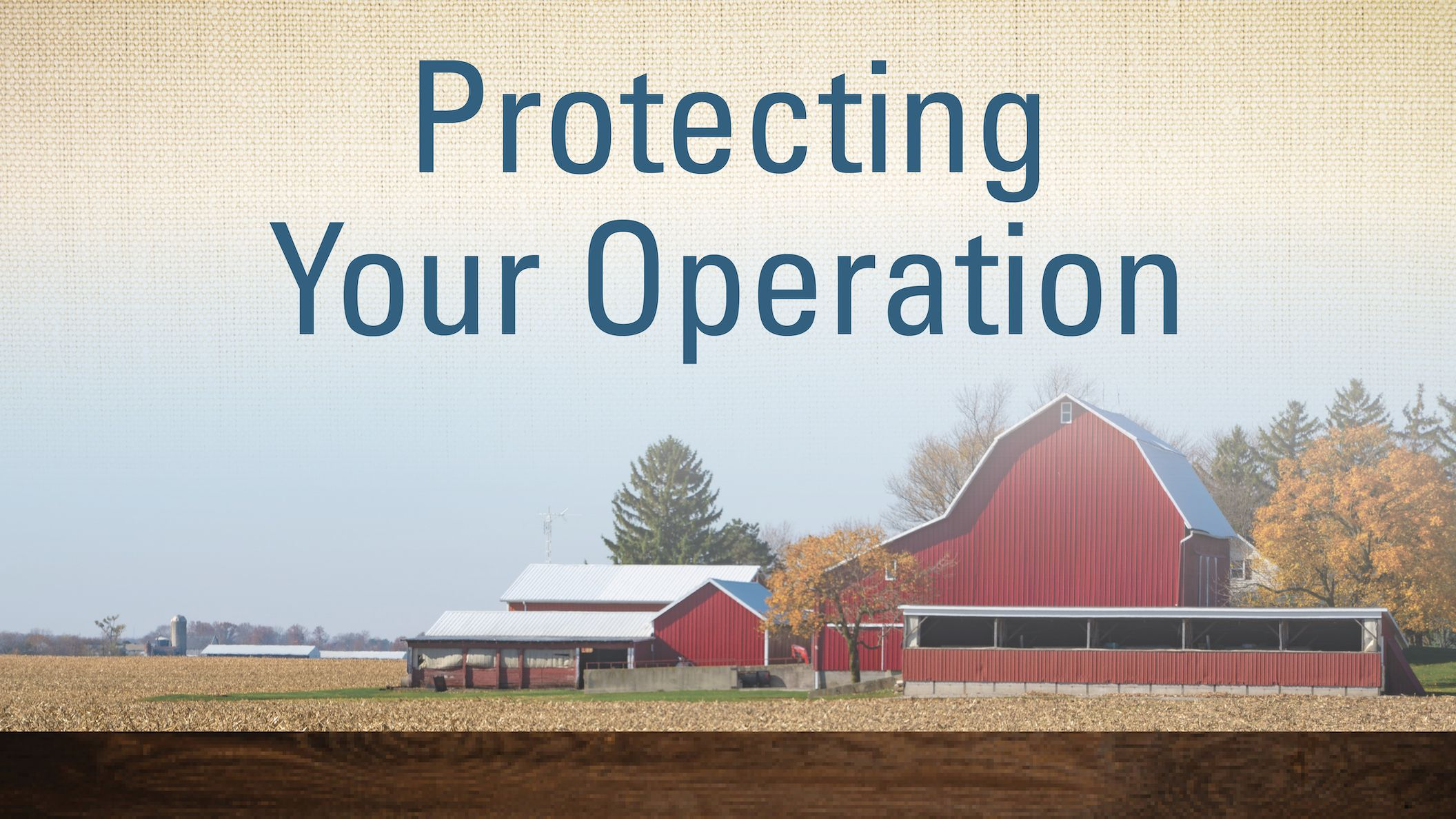 Protecting Your Operation