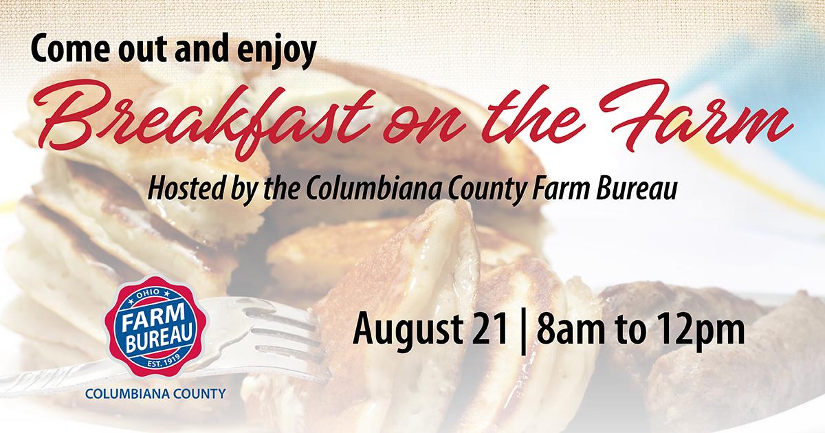 Columbiana County Breakfast on the Farm