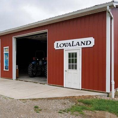LovaLand Farm Jerry and Lova Ebbert