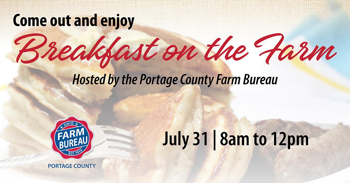 Portage County Breakfast on the Farm 2021