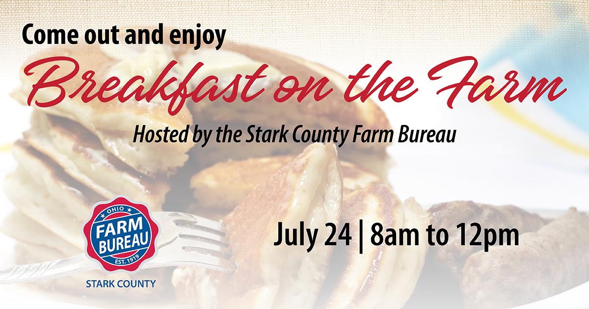 Stark County Breakfast on the Farm 2021
